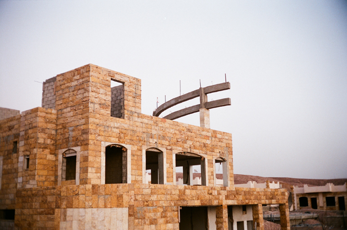 Building under construction, Aquaba, Jordan
