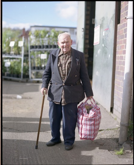 Billy, 90, market-going for 50 years